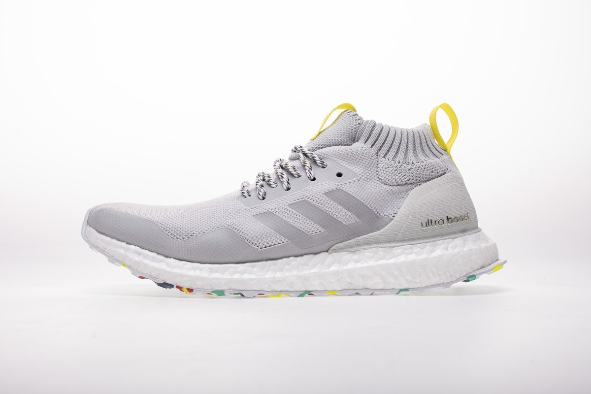 Grey Men/'s Running Shoes Athletic Sneakers New Adidas UltraBoost Mid G26842